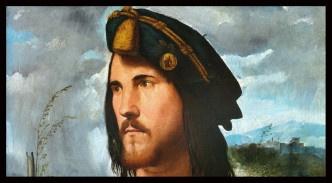 Portrait présumé de Cesare Borgia peint par Altobello Melone