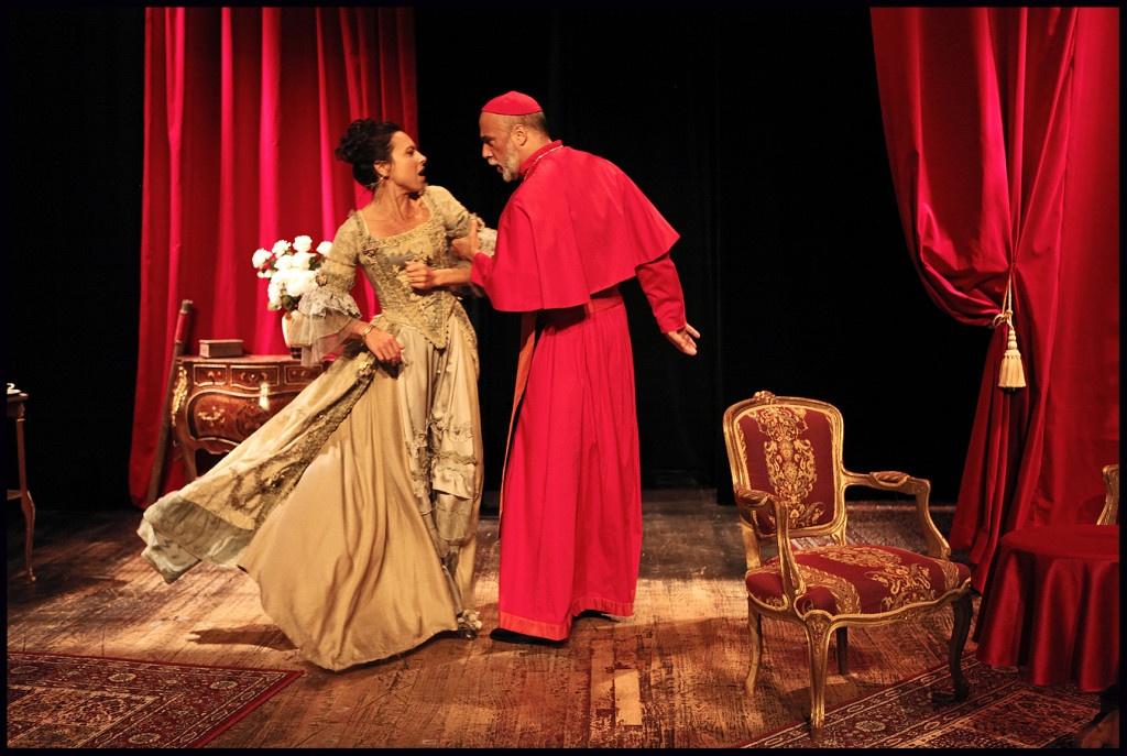 Gaëlle Billaut-Danno dans Célimene et Cardinal de Jacques Rampal © DR