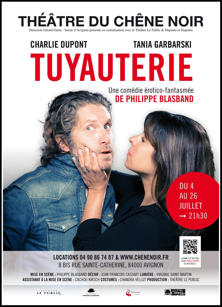 Tuyauterie - Avignon 2015 - AffichePanache - 50x70 - v2 vect.ind