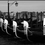 Gondoles vénitiennes © Olivier F-A