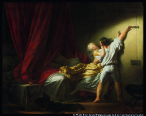 Le verrou de Jean-Honoré Fragonard (vers 1777-1778) © Photo Rmn-Grand Palais (musée du Louvre) / Daniel Arnaudet