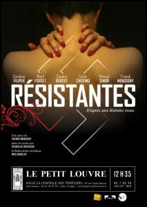 AFF_Resistantes-Monsigny_avignon_@loeildoliv
