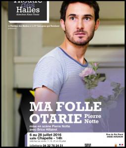 Affiche-MaFolleOtarie_Avignon_Pierre_notte_@loeildoliv