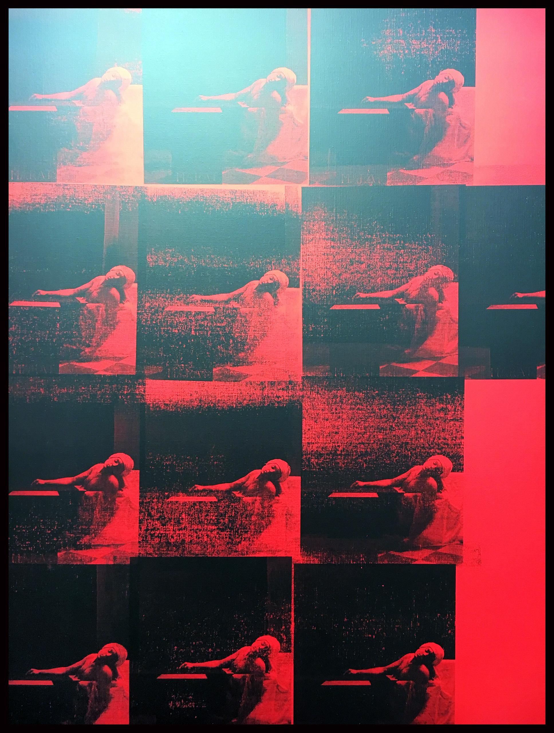 red_marat_gavin-turk_galerie-kinzinger_vienna_@loeildoliv