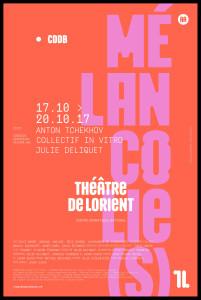 Affiche Mélancolies_Lorient_Deliquet_@loeildoliv