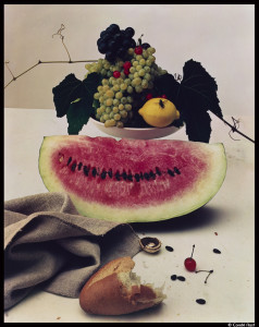 Irving Penn-Still Life with Watermelon_© Condé Nast_@loeildoliv
