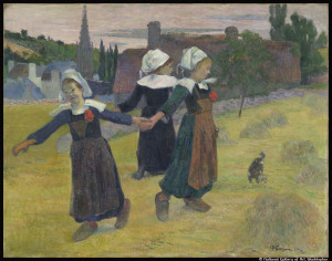 GAUGUIN_La ronde des petites bretonnes_ ©National Gallery of Art-Washington_@loeildoliv