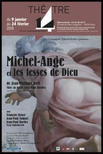 aff_michel ange_fesses du bon dieu_Theatre 14_@loeildoliv