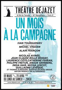 affiche-un mois a la campagne_françon_Dejazet_@loeildoliv