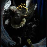 un espiègle elfe du Le songe d'une nuit d'été, opéra d'après l'œuvre de William Shakespeare, festival de Glyndebourne, mise en scène de Sir Peter Hall, costumes de John et Elisabeth Bury © OFGDA