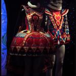 La reine de cœur dans Alice au pays des merveilles, ballet de Michel Rahn d'après Lewis Caroll, Costumes de Charles Cusio-Smith et Phil R. Daniels © OFGDA