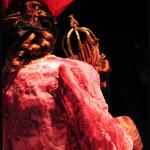 Détail d'un costume pour le roi dans La Belle au bois dormant, version Charles Jude d'après Marius Pepita, costumes de Philippe Binot © OFGDA