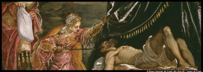 Couv_Tintoret_72dpi_Judith et Holopherne_© Museo Nacional del Prado, dist- Rmn-GP _ image du Prado_@loeildoliv