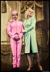 Entre Boy (Antoine Kahan) et Lady Margaret, les tensions sont palpables © Marcel Hartmann