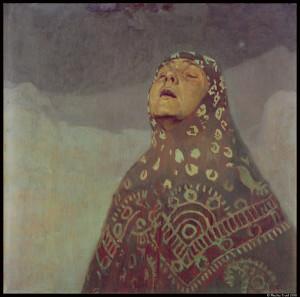 Étude pour Femme dans le désert_Mucha_Luxembourg© Mucha Trust 2018_@loeildoliv