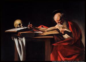 Caravage_Saint_Jerome_Writing-Caravaggio__©© Ministero dei Beni e delle Attività Culturali e del Turismo- Galleria Borghese_@loeildoliv