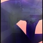 Blue Nude IV de Sara Van DerBeek. 2018. Digital C-Print. Galerie Metro Pictures New York. ©OFGDA