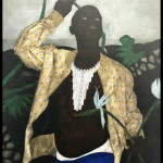 Ivory (ii) de Cinga Samson. 2018. Huile sur toile Galerie Perrotin. © OFGDA