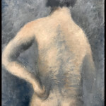 nu de dos, main gauche à la hanche de Jean Fautrier. 1926. oil on canvas. Galerie Michael Werner. © OFGDA