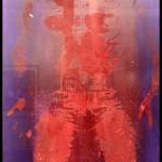 MVP de Keltie Ferris. 2018. Oil and powdered pigment on paper. Galerie Mitchell-Innes & Nash. © OFGDA