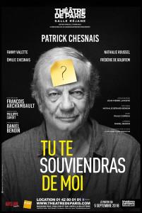 Aff_tu te souviendras de moi_Chesnais_theatre de Paris_@loeildoliv