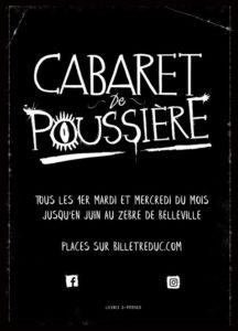 Affiche_cabaret de poussiere_ 2mo77_@loeildoliv