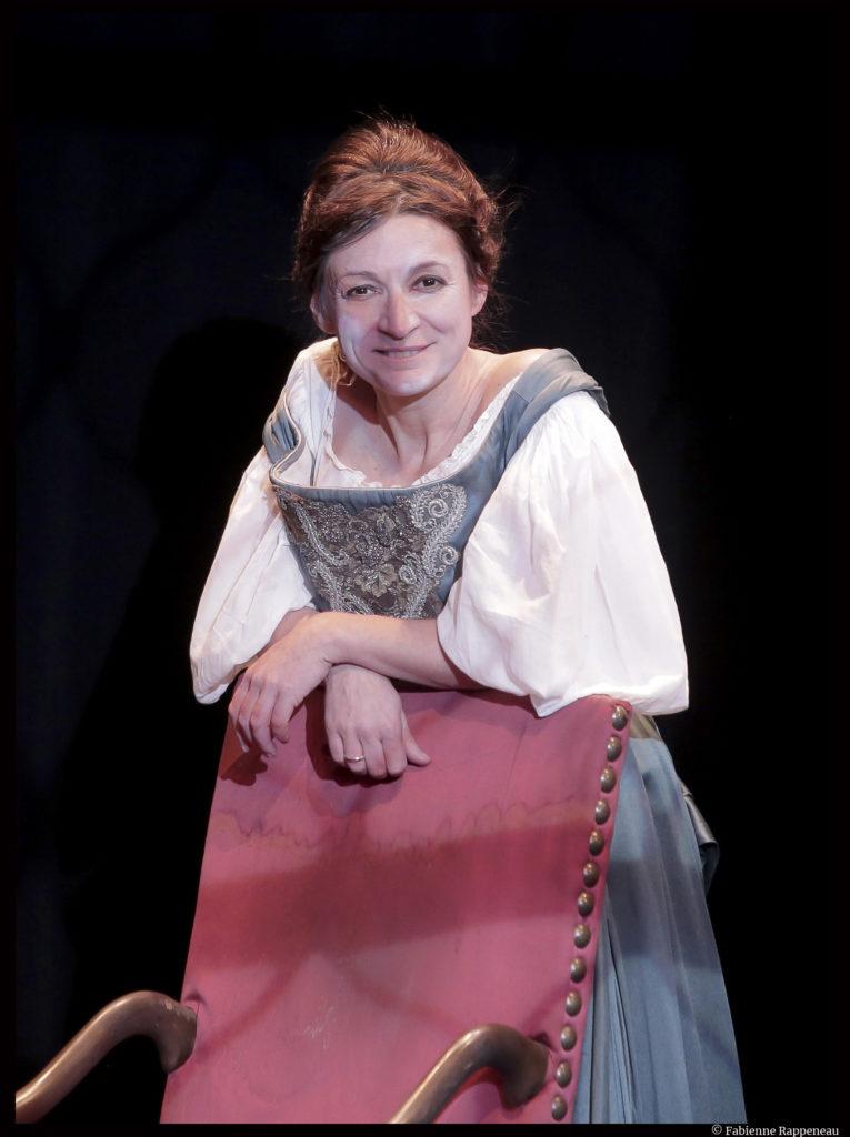 Anne Bouvier dans Mademoiselle Molière. ©Fabienne Rappeneau