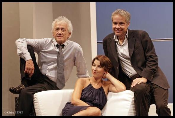 Illusion conjugale d'Eric Assous. Isabelle Gélinas, José Paul, Jean-Luc Moreau. © Claire Besse