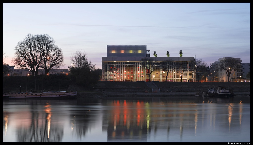 Le Quai-Angers direction Thomas Jolly, CDN Angers Pays de loire. ©Architecture Studio