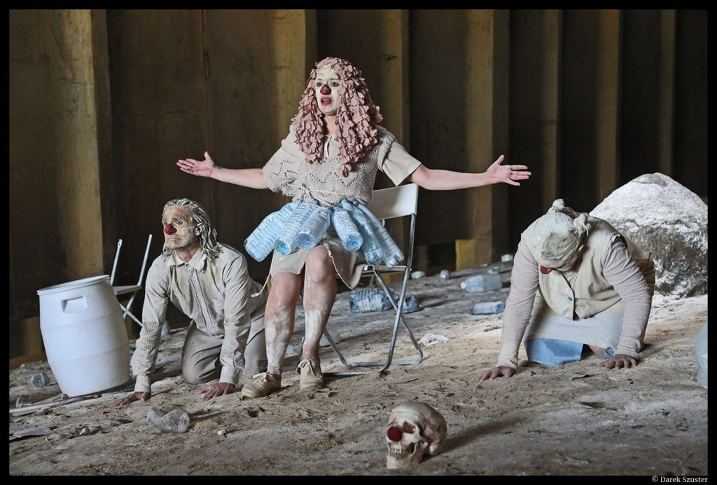 Clownstrum du Monstrum. Louis Arene. Paris l'été. © Darek Szuster