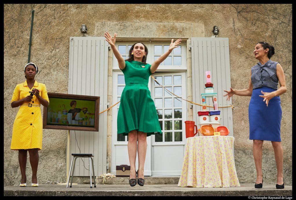 Maison Maria-Casarès. Festival d'été. Johanna Silberstein et Matthieu Roy. © Christophe Raynaud de Lage