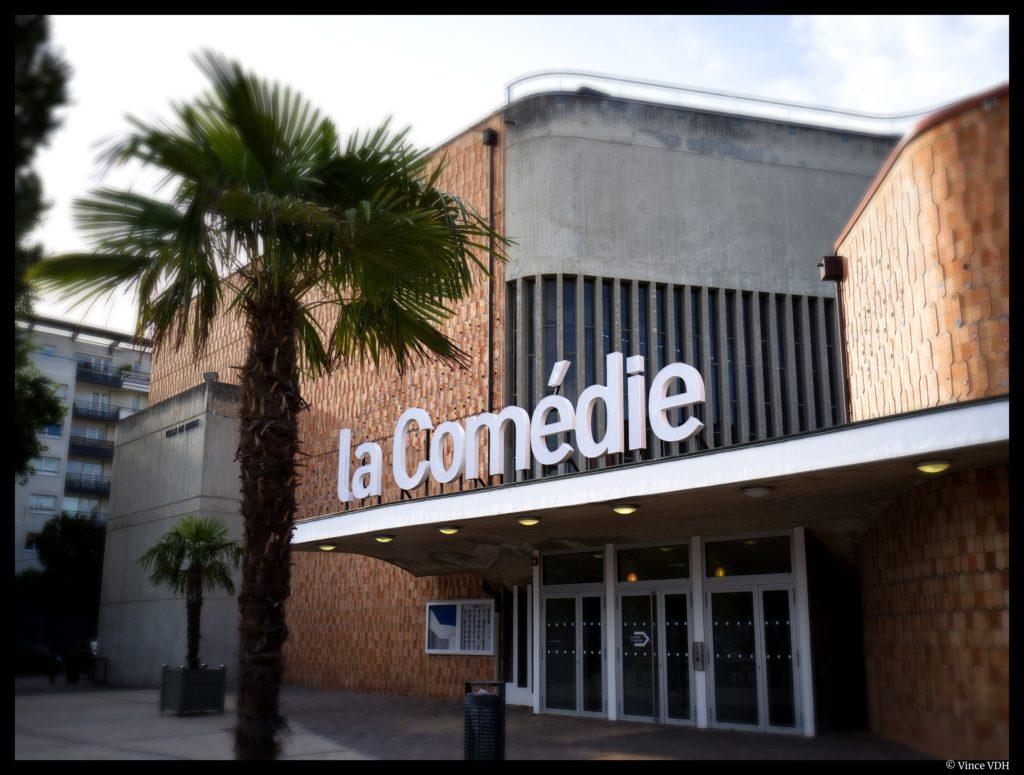 Extérieur de la Comédie de Reims © Vince VDH
