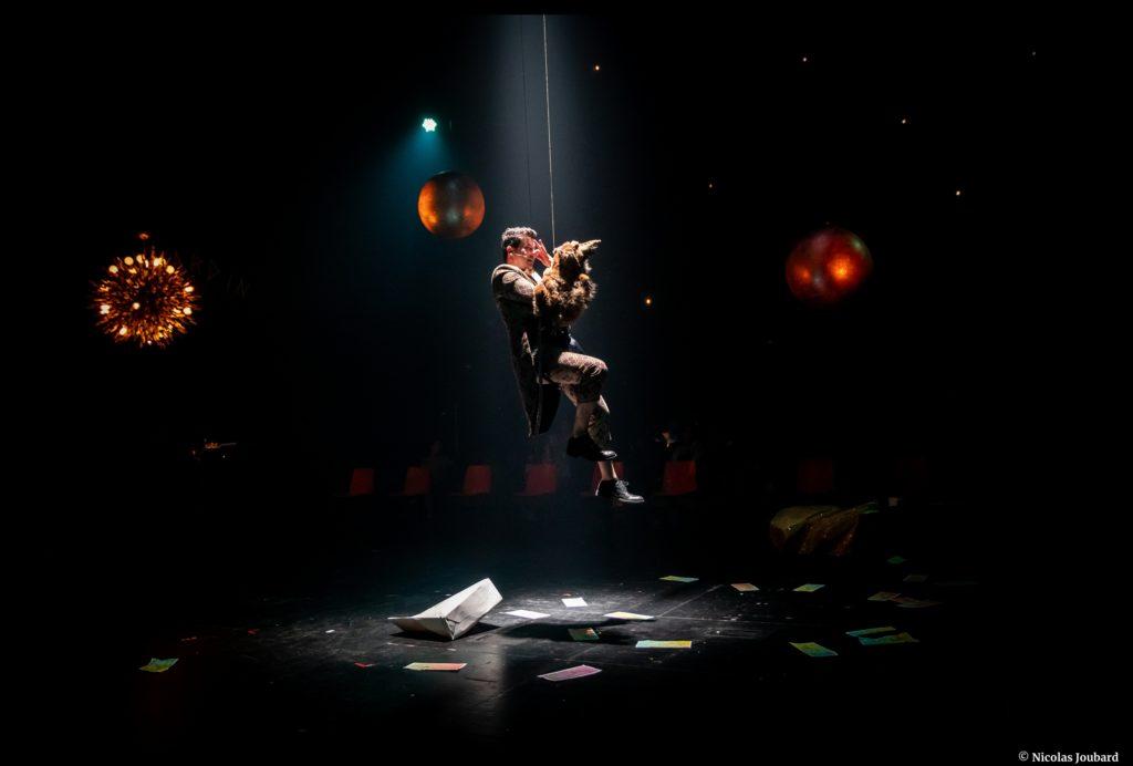 La nuit de Madame Lucienne de Copi. Mise en scène de Thomas Jolly. Le Quai-Angers. © Nicolas Joubard