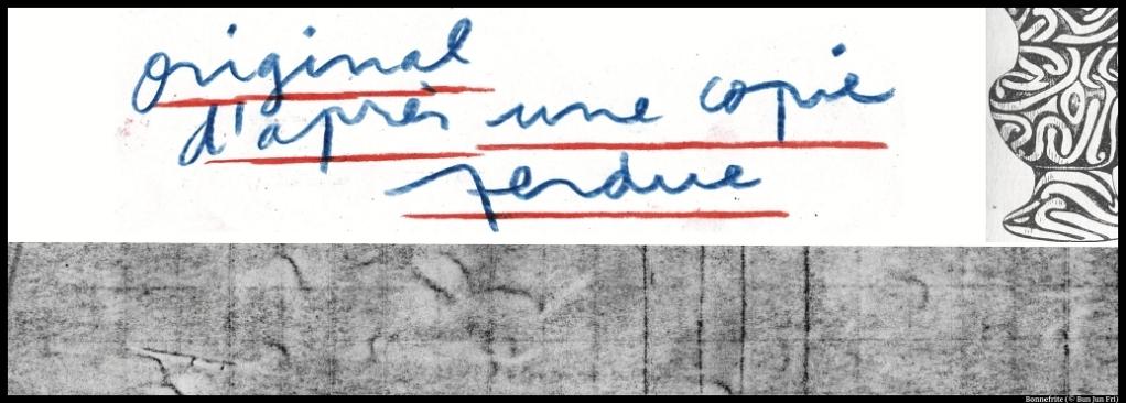 Original d'après une copie perdue.de Samuel Achache, Marion Bois et Antonin-Tri Hoang. Théâtre de l'Aquarium. Bonnefrite (© Bun Jun Fri)