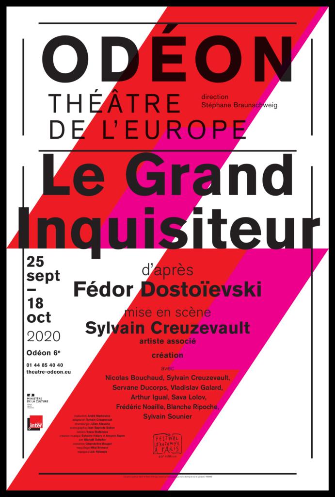 Le Grand Inquisiteur d'après Féodor Dostroïevski. Mise en scène de Sylvain Creuzevault. Odéon-Théâtre de l'Europe © Simon Gosselin
