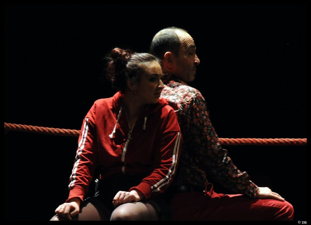 Boxing shadows de Timothy Daly. Mise en scène d'Isabelle Starkier. Off/On Paris. © DR
