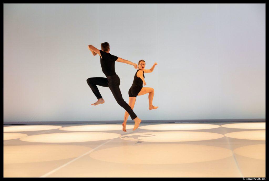 So Schnell de Dominique Bagouet. recréation Catherine Legrand. Montpellier Danse. © Caroline Ablain