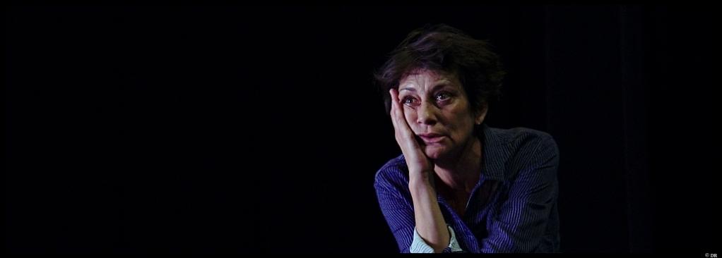 Le Quai de Ouistreham de Florence Aubenas. Mise en scène de Louise Vignaud. Magali Bonnat. Théâtre 14. © DR