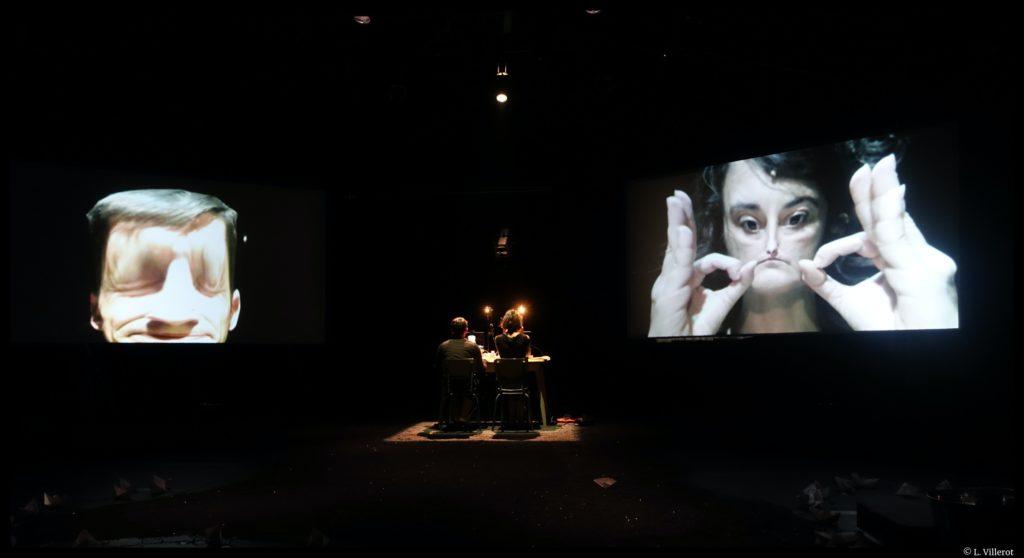 Dyslexie d'Olivier Chapu. Mise en scène d'Isabelle Ronayette. Compagnie LRIR. © L. Villerot