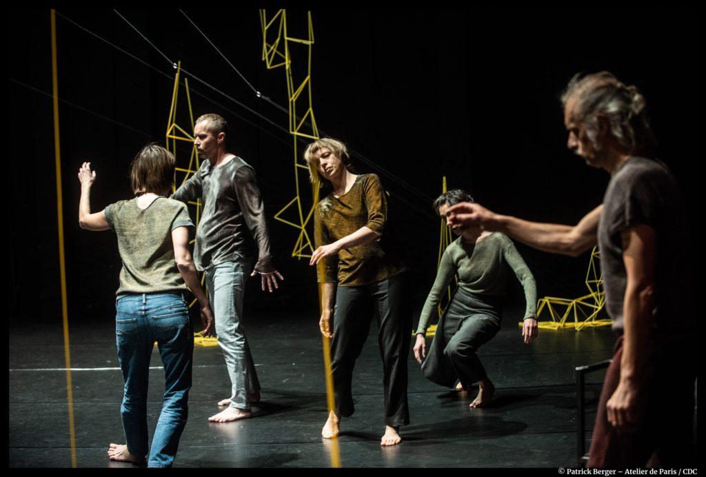 If Only de Thomas Hauert. Indispensable ! Atelier de Paris. © Patrick Berger.