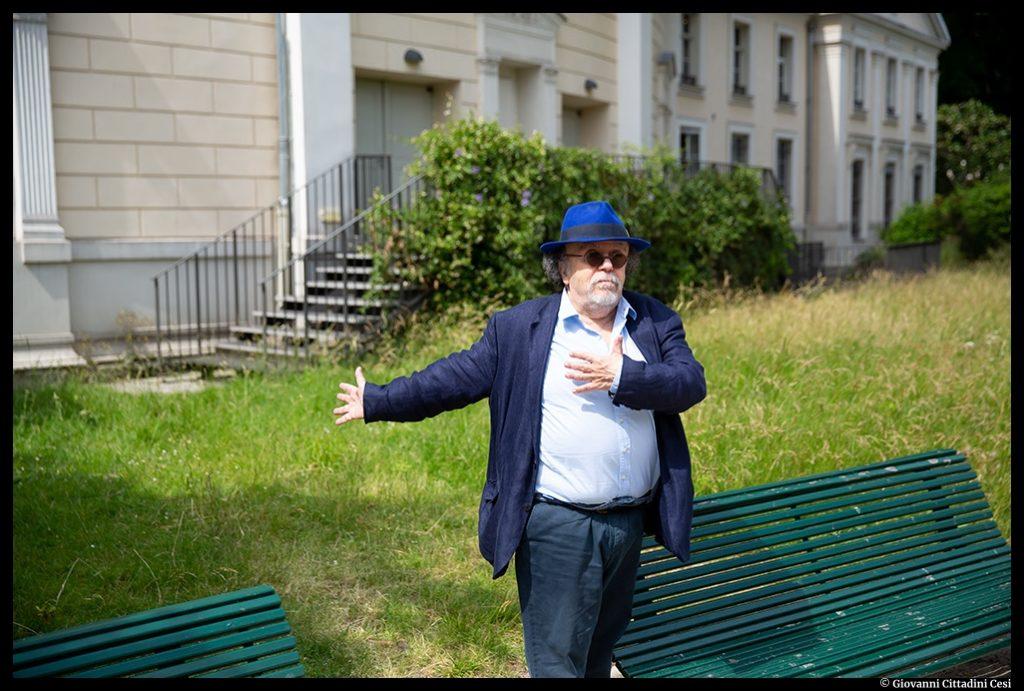 Jean-Michel Ribes. Le Rond_Point dans le Jardin. © Giovanni Cittadini Cesi