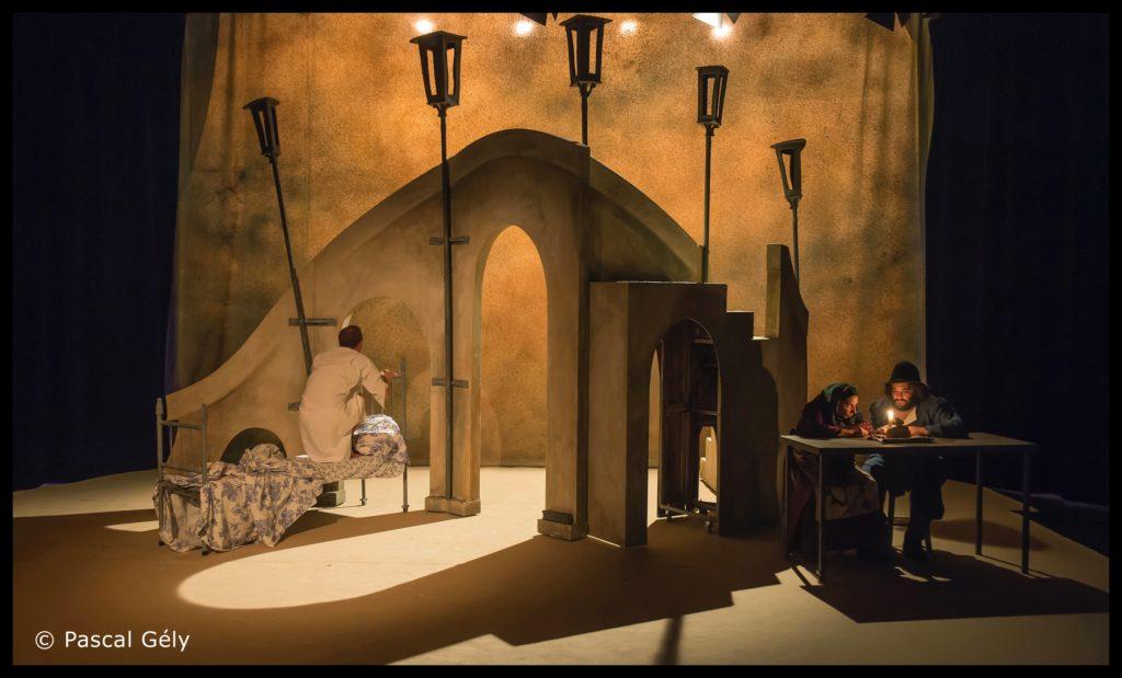 Le Nez de Gogol. mise en scène Ronan Rivière. © Pascal Gely. Théâtre 13