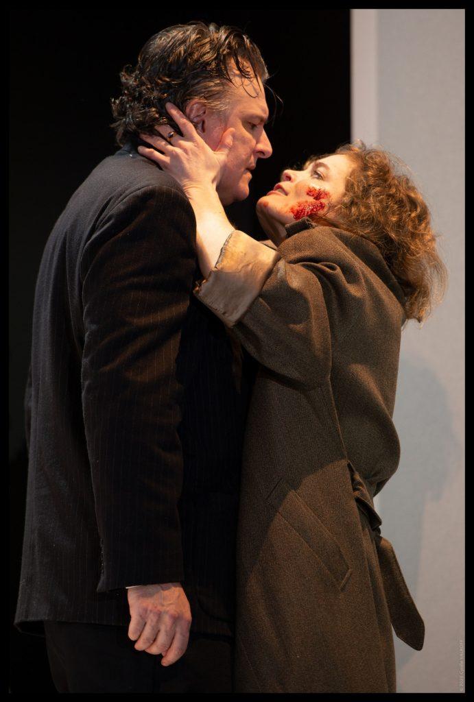 Mademoiselle Julie de Strindberg. Mise en scène de Christophe Lindon. Sarah Biasini ©cyrille Valroff