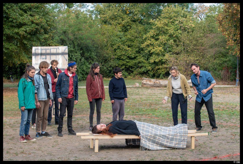 Uneo uplusi eustragé dies de Gwenaël Morin. Ajax. Talents Adami. La villette. Festival d'automne à Paris. © DR