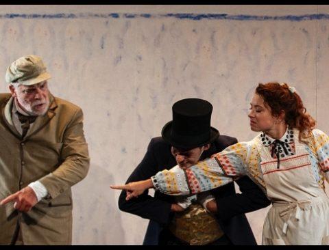 Crise de nerfs d'après Tchekhov. Jacques Weber. Mise en scène de Peter Stein. Théâtre de l'atelier. © Maria-Letizia Piantoni