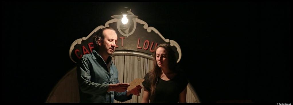 Cabaret Louise de Régis Vlachos. avec Charlotte Zoto. Mise en scène de Marc Pistolesi. Lucernaire. © Xavier Cantat