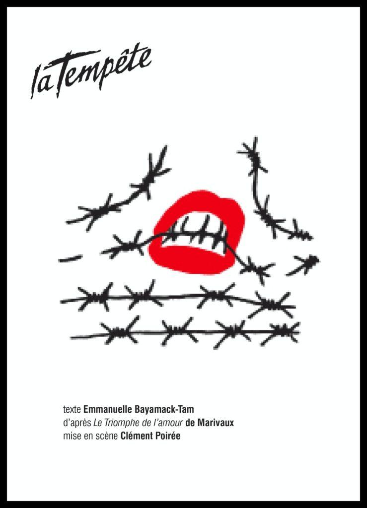 À l'abordage d'Emmanuelle Bayamack-Tam. Mise en scène Clément Poiré. . La tempête. © Morgane Delfosse
