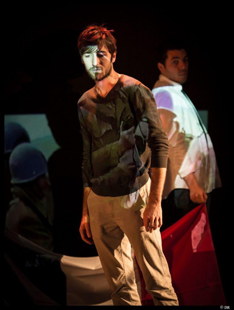 De nos frères blessés de Joseph Andras. Mise en scène de Fabrice Henry. Vincent Pouderoux. Prix Celest'1 2020 © DR