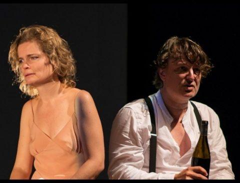 Mademoiselle Julie de Strindberg. Sarah Biasini. mise en scène de Christophe Lindon. Le Cado. ©Cyrille Valroff