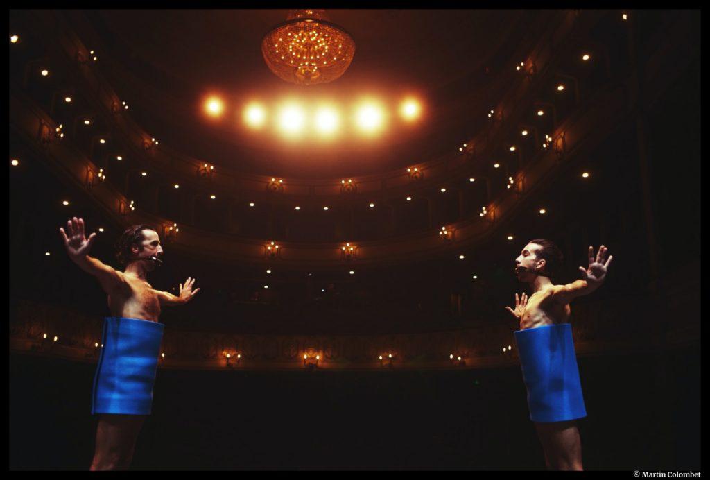 Concrerto d'Aina Alegre et David Wampach. Montpellier Danse. L'Opéra-Comédie. © Martin Colombet